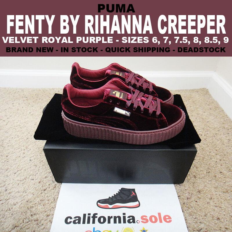 purchase cheap b1ac5 e7a94 Купить Puma FENTY By Rihanna Velvet Creeper Royal Purple на ...