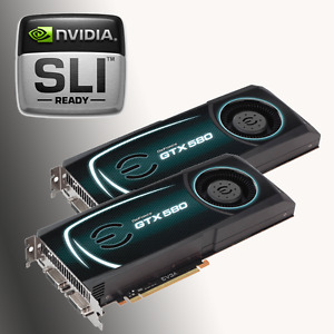 SLI GTX 580s! *They play the latest games!!*