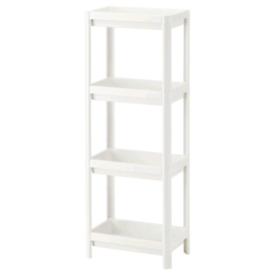 IKEA Shelf unit, white36x23x100 cm