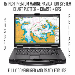 15 INCH PREMIUM NAVIGATION SYSTEM READY FOR YOUR BOAT