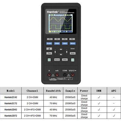 Hantek 3 In1 Lcd Handheld Digital Oscilloscope Waveform Generator Multimeter