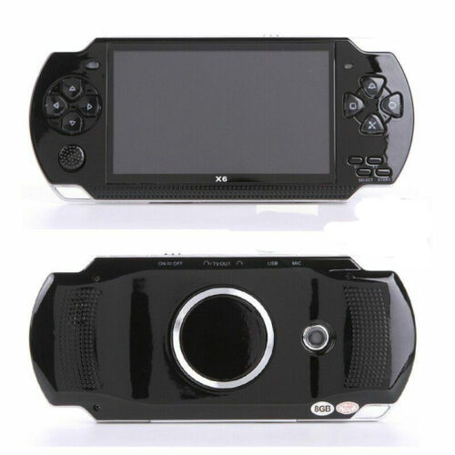 """4.3"""" 8GB 128Bit Retro Portable Handheld Game Console Player 10000 Games Built-In"""
