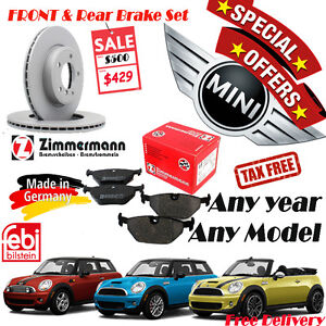 Special Offer Brake Sets (Rotor/Pad/Sensor) for MINI Any year An