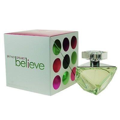 Britney Spears Believe Eau De Parfum Spray (BRITNEY SPEARS BELIEVE 100ML EAU DE PARFUM SPRAY BRAND NEW & SEALED)