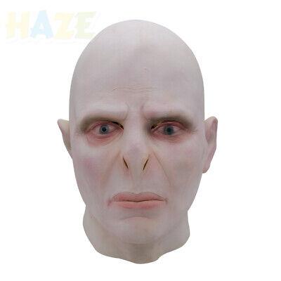 Voldemort Halloween Mask (Heiße Harry Potter Lord Voldemort Cosplay Latex Maske Kostüm Halloween)