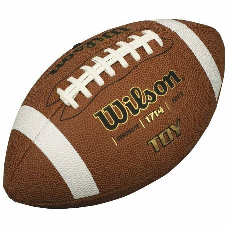 Wilson Traditional Composite Football Youth American Football Spielball braun