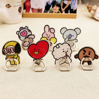 KPOP BTS Phone Stand Holder Bangtan Boys Cellphone Holder Love Yourself