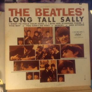 The Beatles/Long Tall Sally 1978 Mono/Stereo LP Looks Unplayed T