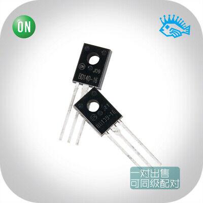 220pairs On Bd139-16 Bd140-16 To-126 Audio Transistora Pair For Sale