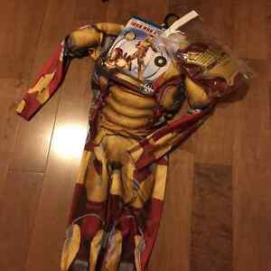 New Ironman Costume -boys size 10 years plus