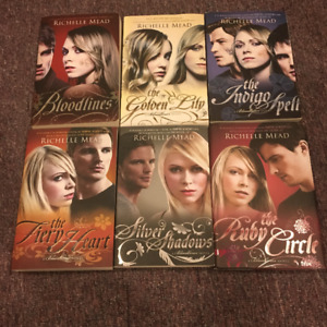 Richelle Mead Bloodlines full book series