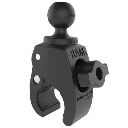 "RAM Mounts  Small Tough-Claw with 1"" Diameter Rubber Ball"