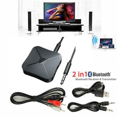 Bluetooth Музыка Аудио Стерео Приемопередатчик для Автомобиля AUX Домашний Динамик MP3