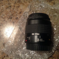 CANON EF 35-80 mm f4-5.6 III camera lens.