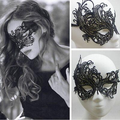 Frauen-Augenmaske-reizvolle Spitze-Maskerade-Halloween-Partei-Abendkleid-Kostüm ()