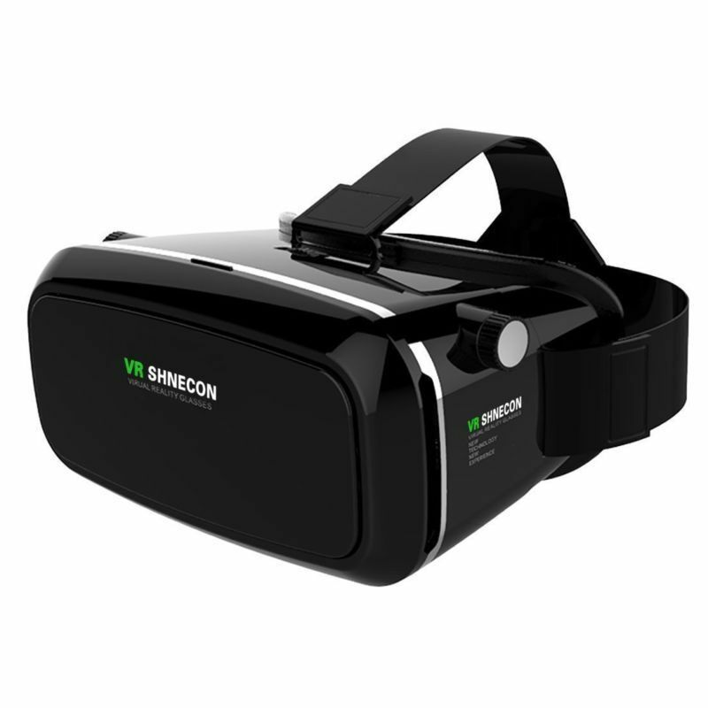 """3D Virtual Reality Video Movie Game Glasses VR SHINECON for 3.5-6"""" Smartphone"""