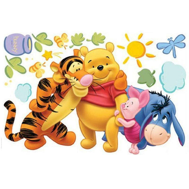winnie the pooh removable wall stickers ebay wall sticker for kids disney winnie the pooh