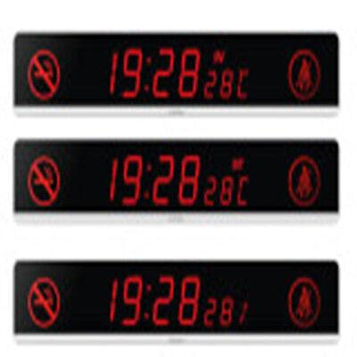 Red Car Led Display Sign Digital Clock Dc24v Automotive Scrolling Display