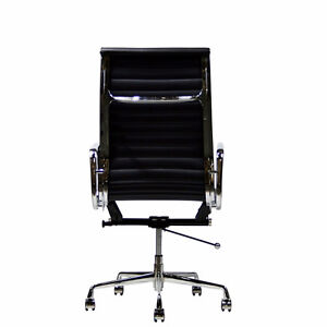 LexMod Ribbed High Back Office Chair West Island Greater Montréal image 3