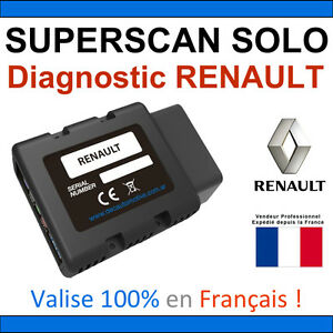 valise diagnostic renault obd2 bluetooth can clip dialogys autocom delphi ebay. Black Bedroom Furniture Sets. Home Design Ideas