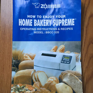 Zojirushi BBCC-X20 Home Bakery Supreme