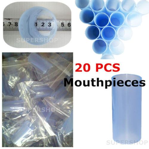 20pcs Plastic Mouthpiece,Reusable Blowpipe for Contec Spirometer SP10/SP70B