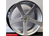 "**NEW 19"" CADES APOLLO WHEELS & TYRES BMW 5 SERIES (E60 MODEL) DIRECT FIT LAST SET!!!** ONLY £750"