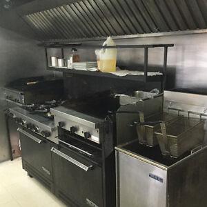 Cuisiniere au gaz