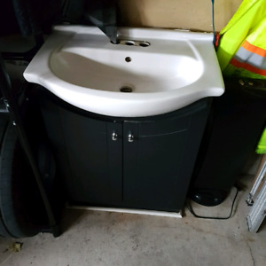 Washroom vanity sink