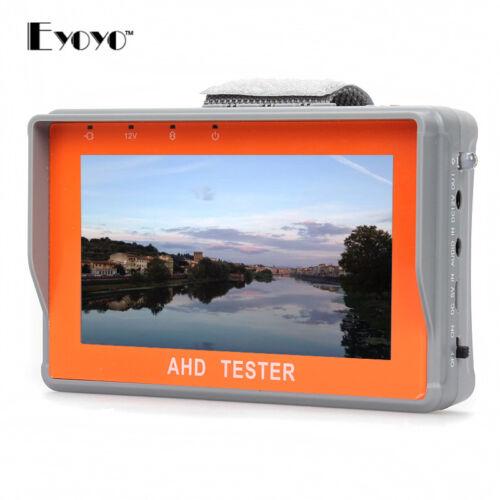 "Wrist 4.3"" LCD 1080P AHD CCTV Camera Cam Test Display Monitor Tester DC12 1A"
