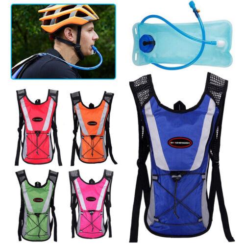 Ultraleichter Wasserdichter Fahrrad Rucksack mit 2Liter-Wasserbeutel Trinksystem