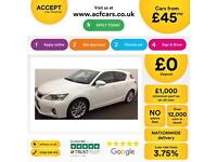 Lexus CT 200h 1.8 CVT 2011MY SE-L Premier FROM £45 PER WEEK!