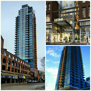 Ultima tower downtown condo 1B/B for rent