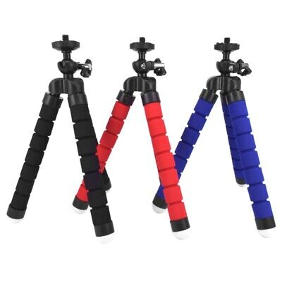 Flexible Cell Phone Camera Foam Octopus Tripod Bracket Holder Stand Mount
