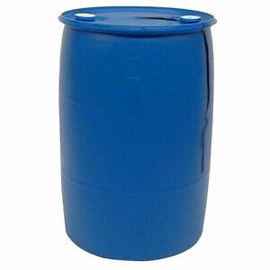 13 barils de plastique pour quai