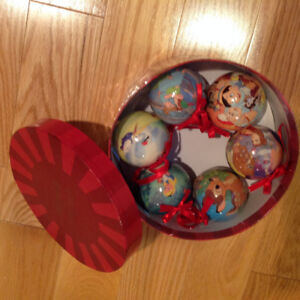Disney Christmas Ornaments - New in Box