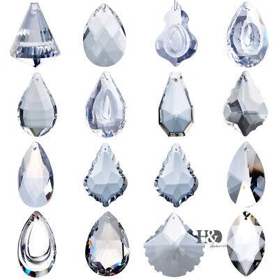 Crystal Prisms Chandelier Parts Suncatcher Rainbow Maker Ornament Xmas - Crystal Suncatchers