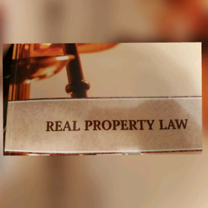 OREA Real Property Law Notes and Questions