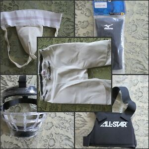 Brand new ball gear- pitching chest protector and knee slider