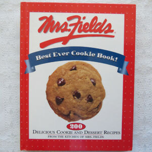 """Mrs. Field's Best Ever Cookie Book""  cookbook"