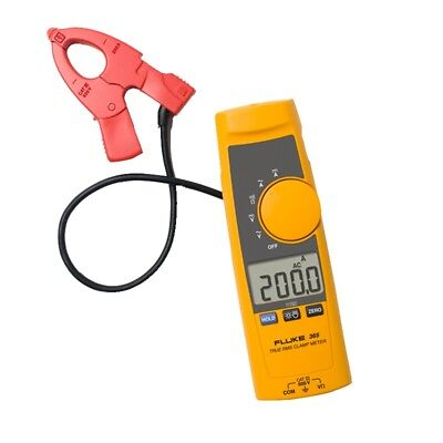 Fluke 365 True Rms Acdc Clamp Meter W Detachable Jaw With Case 200a 600v F365