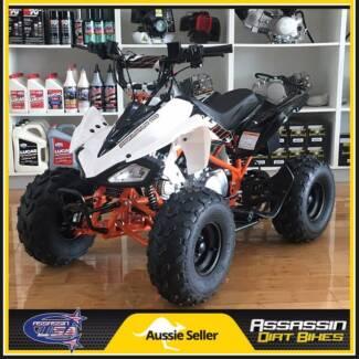NEW Assassin Predator Kids ATV 110cc QUAD Dirt Pit Bike Gokart 4