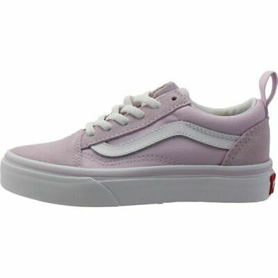 Genuine Vans Old Skool Lavender Fog /True White  UK SIZE 3
