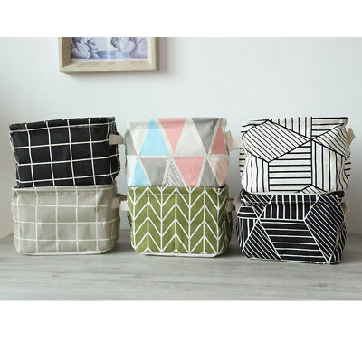 7 color Storage Cube Basket Fabric Drawers Best Cubby Organizer Box Container