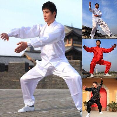 Brand Unisex Martial Arts Uniform Kung Fu Suit Costume Tai Chi  Performance Coat (Martial Arts Costumes)