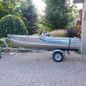 Ez-Loader boat trailer Kitchener / Waterloo Kitchener Area image 1