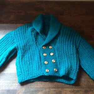 Hand Knit / Hand made Baby Sweaters Cambridge Kitchener Area image 1