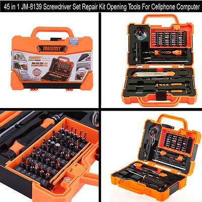 45 In 1 Jm 8139 Screwdriver Set Repair Kit Opening Tools For Cellphone Compute