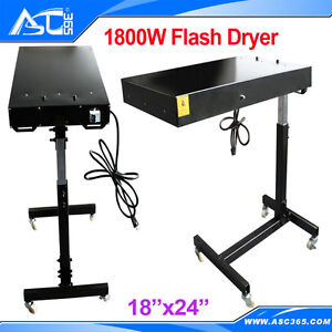 Screen Printing Curing Ink Flash Dryer Rotatable Machine