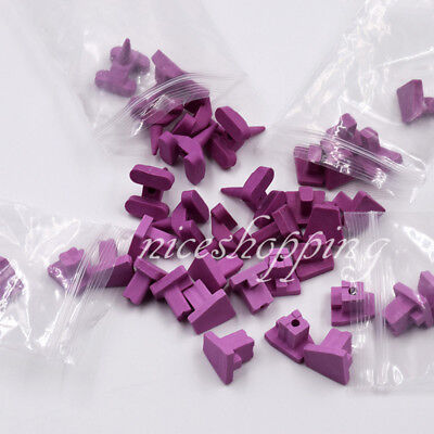 40 Pcs Ceramic Firing Porcelain Pegs Kits Dental Lab For Oven Tray 4 Types New